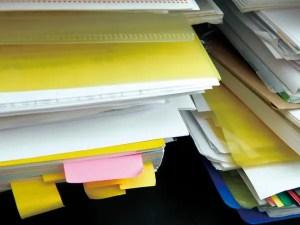 証拠書類はその都度整理