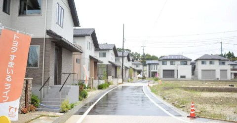 アムステラス豊田平戸橋のモデル街区