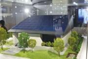 「サステナブルアーキテクチャー」20分の1の模型
