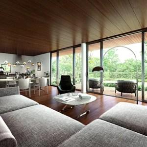 開放的な室内空間
