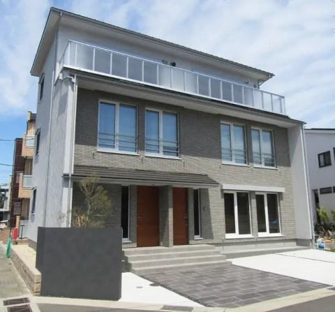 二世帯住宅や賃貸併用としても使用可能な鎌倉市のモデルハウス