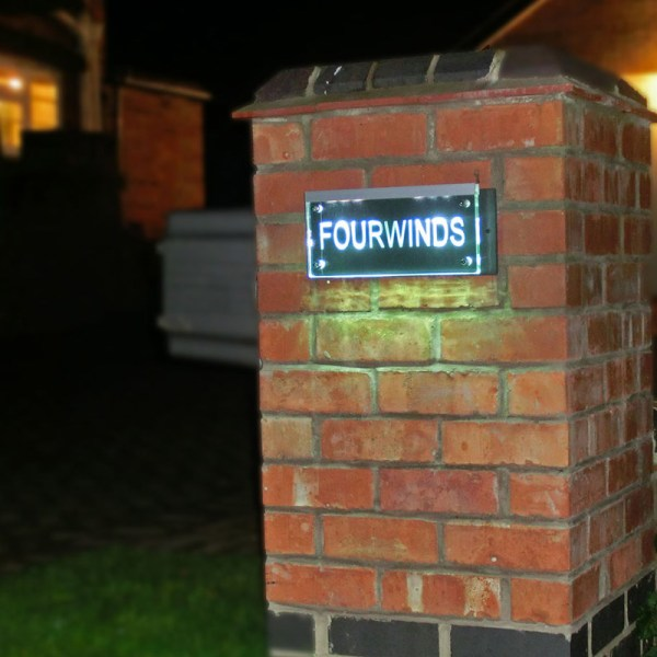 Illuminated House Number Plaques 04