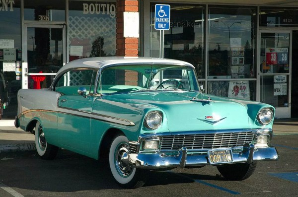 1956 chevy bel air value