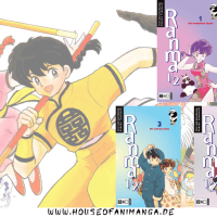 Manga-Readclub: Ranma 1/2 Band 1-5