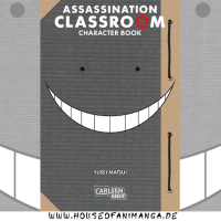 Manga Review: Assassination Classroom Character Book