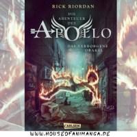 Buch Review: Die Abenteuer des Apollo 1 - Das verborgene Orakel