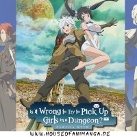 Anime Review: DanMachi - Is It Wrong to Try to Pick Up Girls in a Dungeon? Staffel 1 + OVA 1