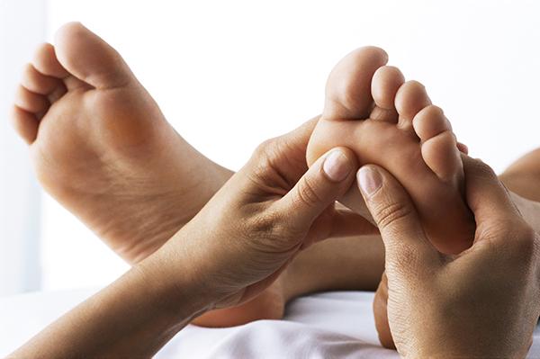 Foot treatment at Asante