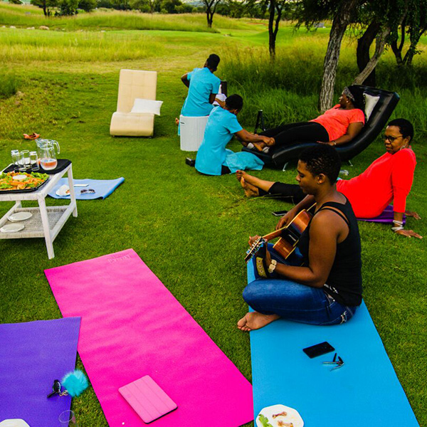 Relaxing at House of Asante Spa at The Ranch Hotel Polokwane