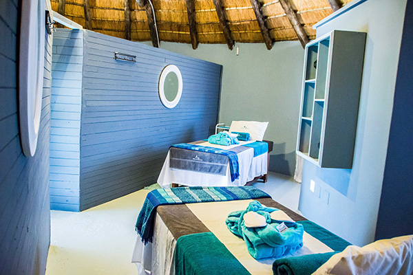 Massage room at House of Asante Spa Polokwane
