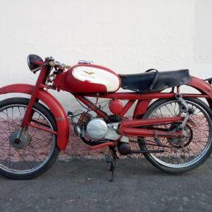 MOTO GUZZI CARDELLINO 73 anno 1958