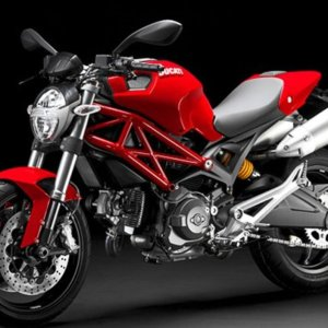 PORTA TARGA DUCATI MONSTER 696