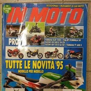 rivista IN MOTO Novembre 1994