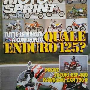 MOTO SPRINT n.6 anno 1991