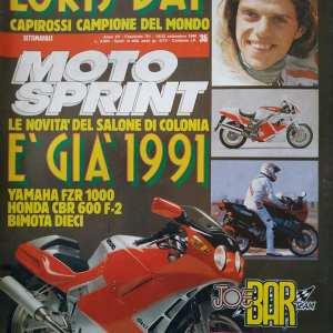 MOTO SPRINT n.38 anno 1990
