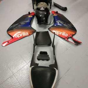 APRILIA RS 125 2003/05 CARENE MOTO