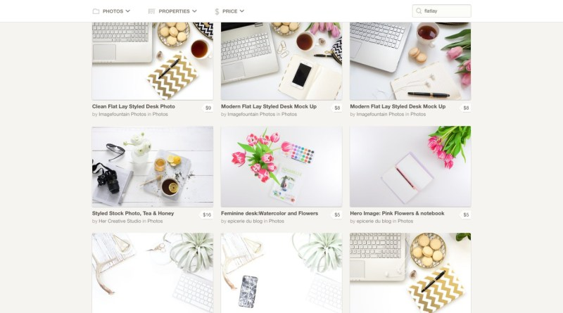 Creative Market - Desktop & Flat lay Photography Stock Photos