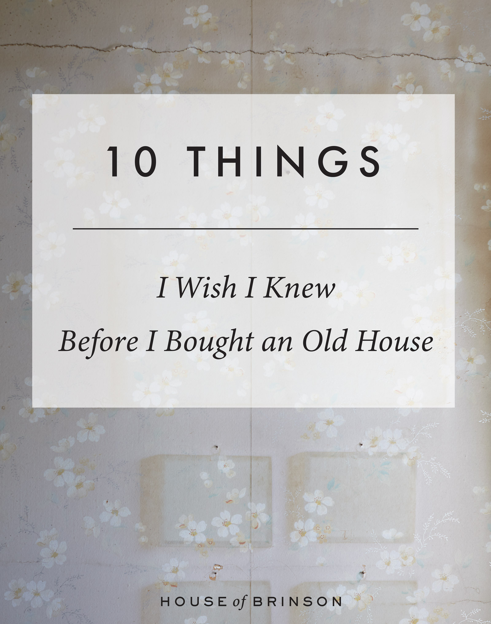 10 Things I Wish Knew Before Buying An Old House Of Brinson Is Wiring Safe