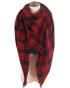 Plaid Scarf - Amazon - $19.99