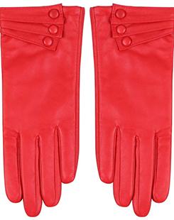 Lambskin Leather Gloves - $37.99