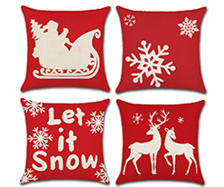Red-Cream-Luxury-Pillow-Cover-Christmas