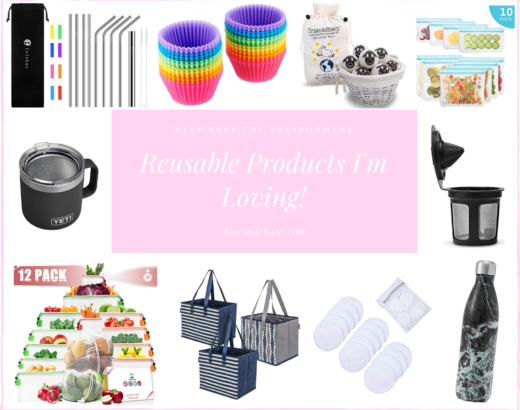 Reusable Products I'm Using & Loving!