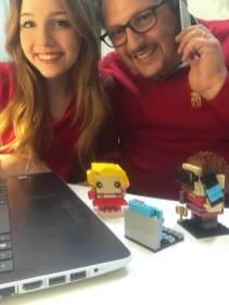 LEGO, passione che unisce papÖ e figlia! Lui ä Arturo, Sales Account Sicilia