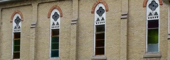 slide church windows