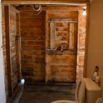 Our new open concept bathroom.
