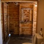 Our new open concept bathroom.