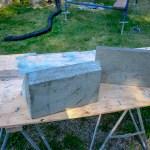 brickwork - buttress caps