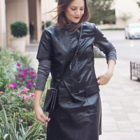 LEATHER DRESS LOVE