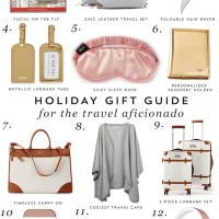 Gift Guide: Travel Aficionado