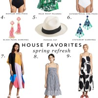 House Favorites: Spring Forward