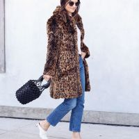 1 Leopard Print Coat Styled 3 Ways