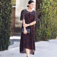 The Perfect Moody Floral Dress for Fall