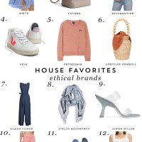 House Favorites: Ethical Fashion Brands