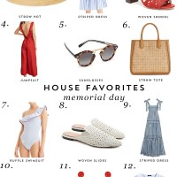 House Favorites: Memorial Day