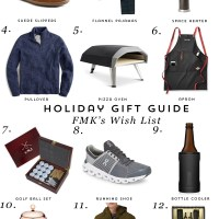 Gift Guide: FMK's Wish List