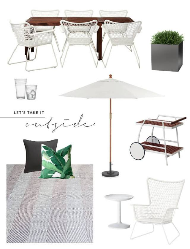 shop the look outdoor living