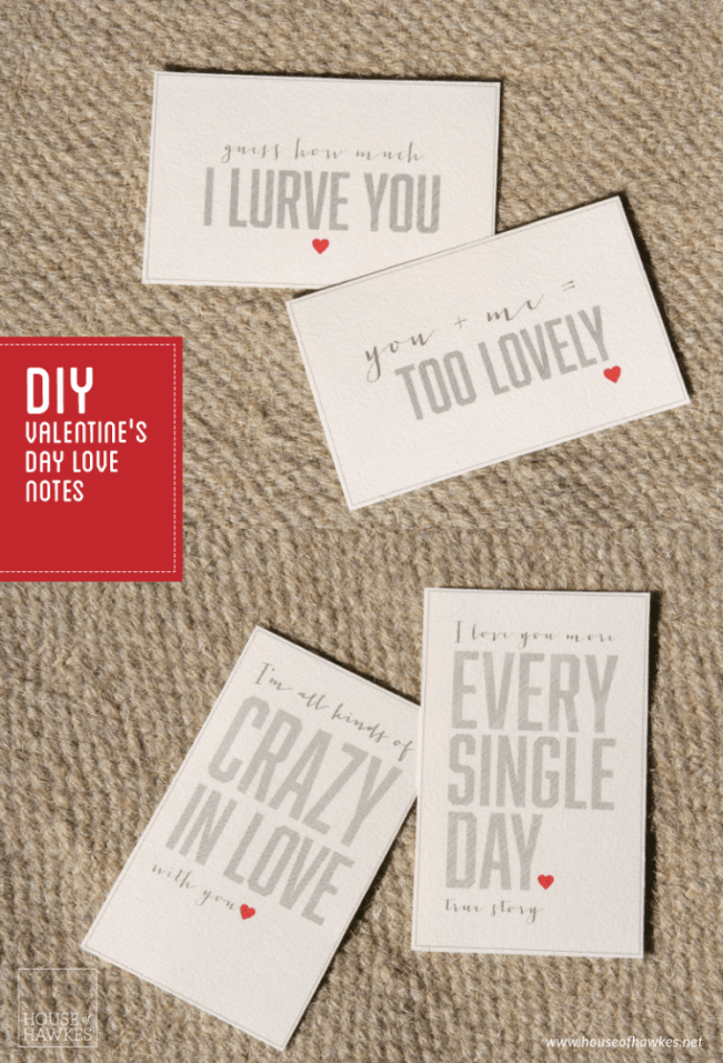 DIY this Valentine's Day