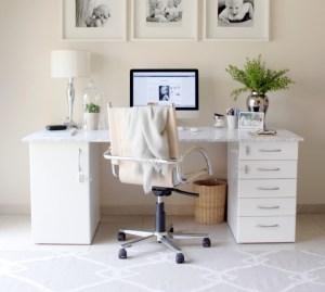 DIY marble desk