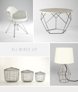 Favourite things: Wire decor roundup