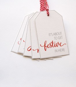 Printable Christmas gift tags 2014