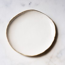 Organic shaped tableware by Suite One Studio
