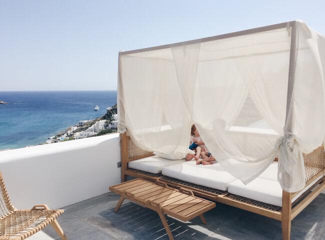 Luxury family villas in Ios, Greece