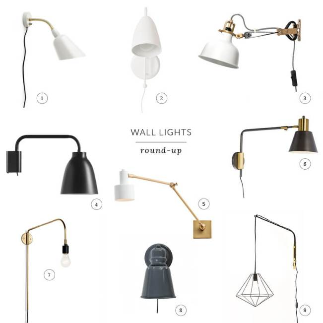 Wall Lights Roundup
