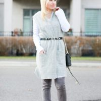 Dress Up A Basic Outfit with a Scarf