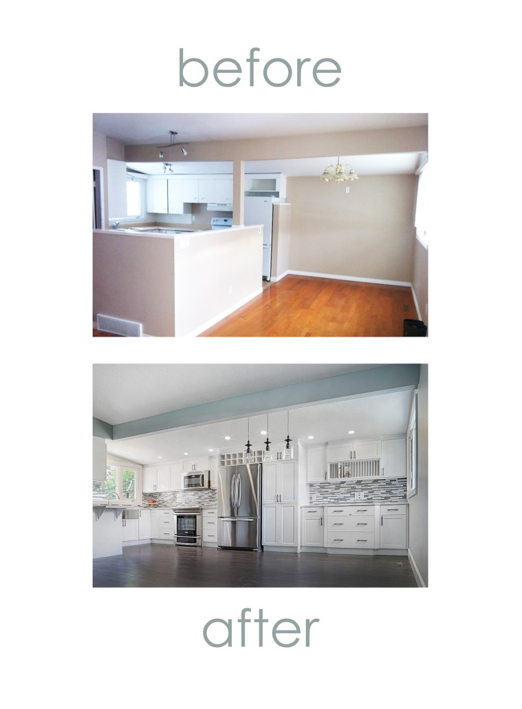 Before And After Home Renovation YEG