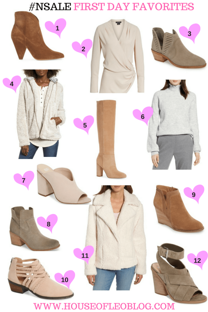 #nsale 2018 first day favorites